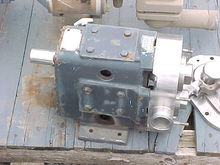 Waukesha Pump S/S with Rotors