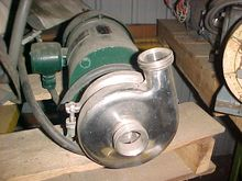 Tri-Clover C216 Pump Coupled to