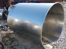 500 Gallon Stainless Steel Cone