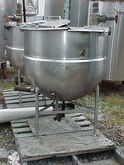 100 Gallon Hubbert Kettle - S/S