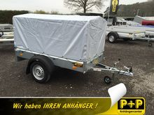 Humbaur Steely with tarpaulin