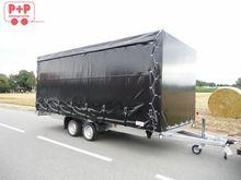 Humbaur HN 305121 with tarpauli