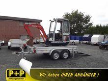 Koch excavator trailer 150.300.