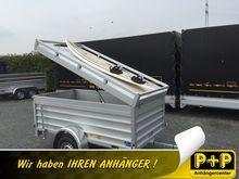 Koch U4 Alu-Deckel trailer with