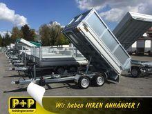 Humbaur HUK 272715 Backhoe with