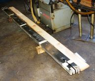 "1 SET OF TWO 123"" X 4-1/4"" X 1"""