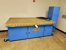 DENRAY 9600 B DOWN DRAFT TABLE