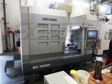 2006 OKUMA MC-V4020 MACHINING C