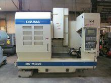 Used OKUMA MC-V4020