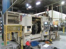 OKUMA & HOWA 2SP-25HG CNC TWIN