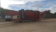 Sandvik QE330 Tracked Screening