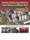 2008 Biomass to Liquid (BtL) pl