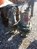 Used water pumps in