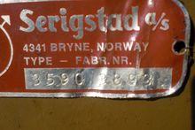 1993 SERIGSTAD FORHØSTER FS134