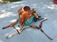 Billy Cook Horse Saddle
