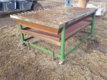 Heavy Duty Welding Table On Ste