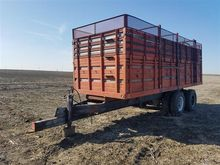 Pull Type Forage Wagon