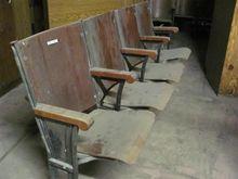 Wooden Auditorium Seats