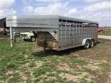 1993 Travalong T/A Livestock Tr