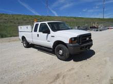 2006 Ford F250 4X4 Extended Cab