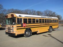 1987 BlueBird School Bus