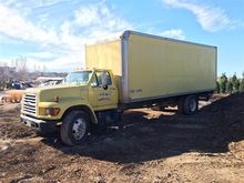 1998 Ford F700 Cargo Delivery T