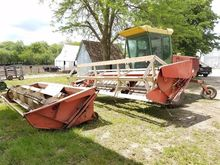 Hesston 6450 Windrower w/Header