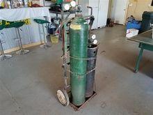 Accetylene Torch Set on Cart