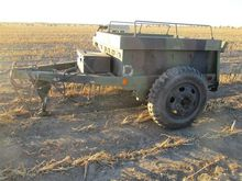 Army 2 Wheel Box Trailer