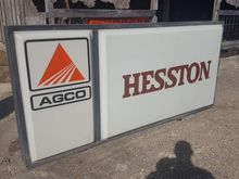 Hesston & AGCO Dealer Sign