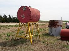 Used Fuel Tank With