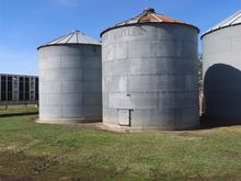1 Butler and 1 BSB Grain Bins