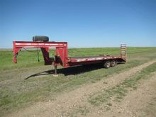 1995 Dct GN24 T/A Flatbed Trail