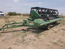 John Deere 590 Draper Swather H