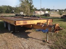 1973 Hyster 20 Ton T/A Flatbed
