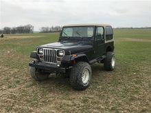 1987 Jeep YJ Wrangler