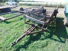 Manure Spreader on Iron Wheels
