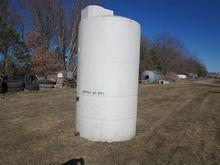 1500 Gallon Vertical Poly Tank