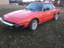 1981 Fiat X 1/9 Convertible