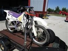 Yamaha YZ125 Dirt Bike