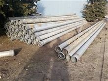 "8"" x 30' Irrigation Pipe"