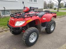 2006 Arctic Cat 650 4x4 ATV Wit