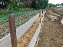Fence Line Cement Feed Bunks