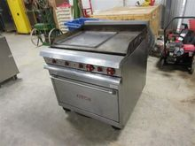 Vulcan Flat Top Grill with Oven