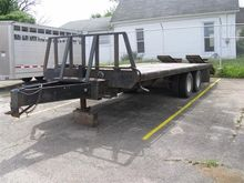 1998 BT T/A Flatbed Trailer
