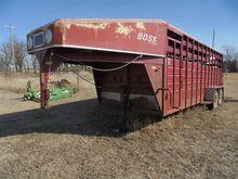 1992 Boss 8020 GN T/A Livestock