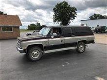 1986 Chevrolet K20 4X4 Suburban