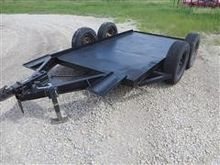 Homemade T/A Steel Flat Bed Imp
