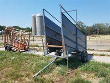 Portable Livestock Loading Chut