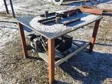 Heavy Duty Table with Hydraulic